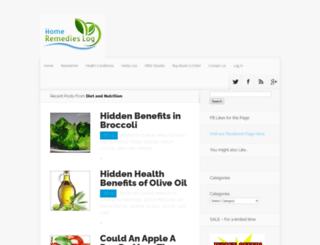 homeremedieslog.com screenshot