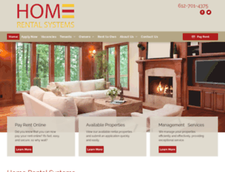 homerentalsystems.com screenshot