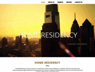homeresidency.com screenshot