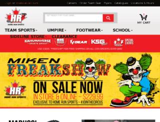 homerunsports.info screenshot