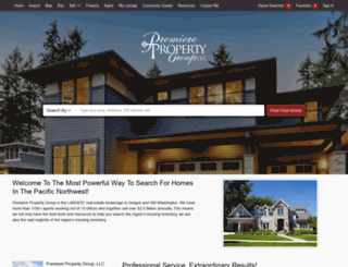 homes.premierepropertynw.com screenshot