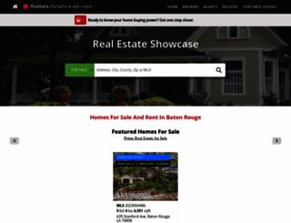 homes.theadvocate.com screenshot