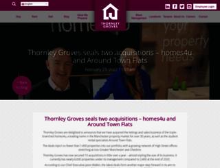 homes4u.co.uk screenshot