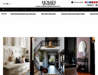 homesandgardens.com screenshot