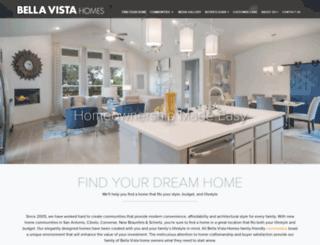 homesbybellavista.com screenshot