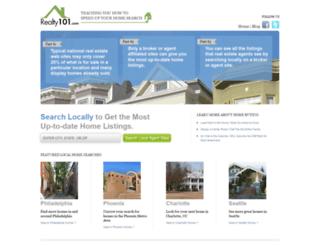 homesbyhansen.kwrealty.com screenshot