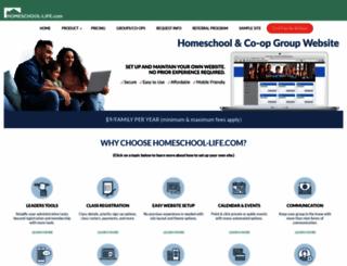 homeschool-life.com screenshot
