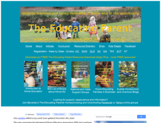 homeschoolaustralia.com screenshot