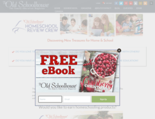 homeschoolcrew.com screenshot