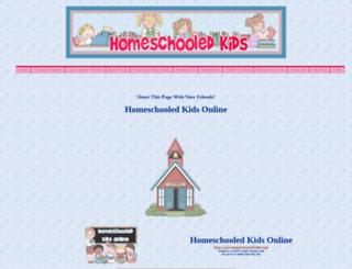 homeschooled-kids.com screenshot