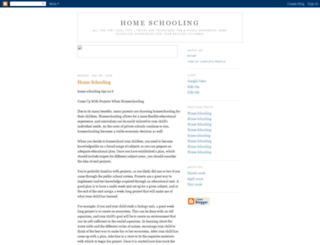 homeschoolingsecrets.blogspot.com screenshot