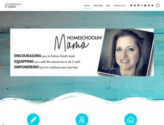 homeschoolinmama.com screenshot