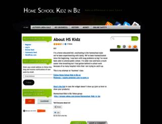 homeschoolkidz.wordpress.com screenshot