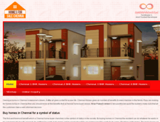 homesforsalechennai.co.in screenshot