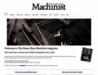 homeshopmachinist.net screenshot