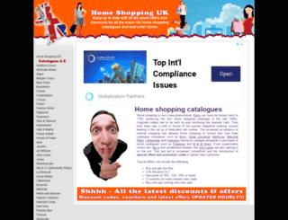 homeshoppinguk.co.uk screenshot