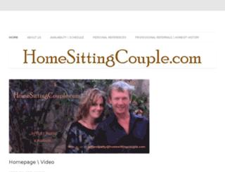 homesittingcouple.com screenshot