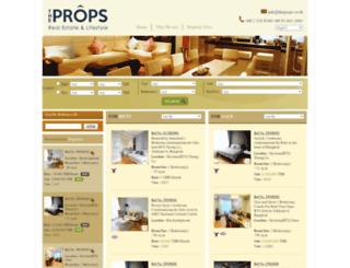 homeslivingbangkok.com screenshot