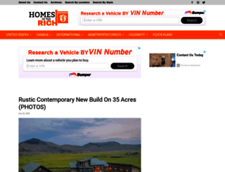 homesoftherich.net screenshot