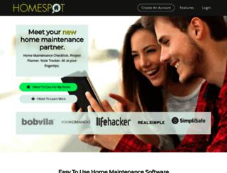 homespothq.com screenshot