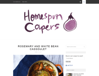 homespuncapers.com screenshot