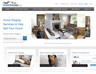 homestaging.com screenshot