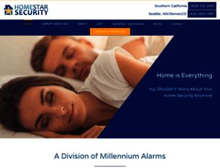 homestarsecurity.com screenshot