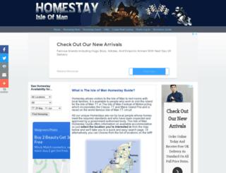 homestay-iom.com screenshot