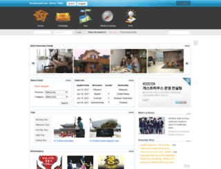 homestaykorea.com screenshot