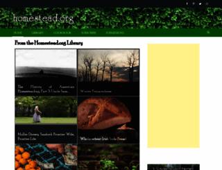 homestead.org screenshot