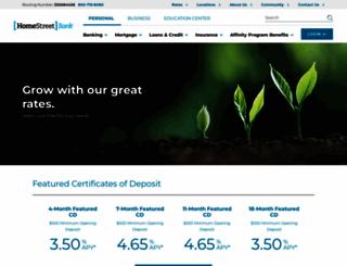 homestreet.com screenshot