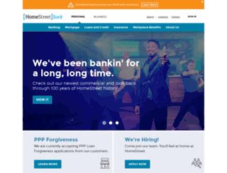 homestreetbank.com screenshot