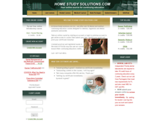homestudysolutions.com screenshot