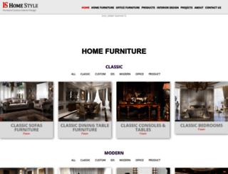 homestyleksa.com screenshot