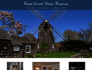 homesweethomemuseum.org screenshot