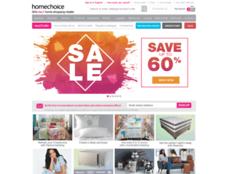 hometalk.homechoice.co.za screenshot