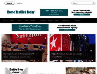 hometextilestoday.com screenshot