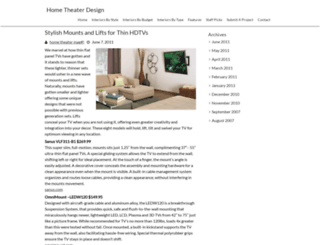 hometheaterdesignmag.com screenshot