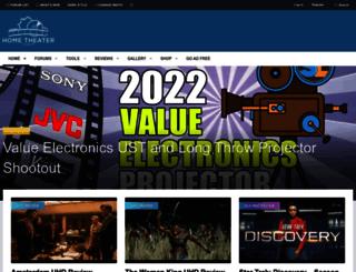 hometheaterforum.com screenshot