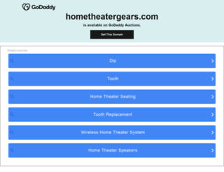 hometheatergears.com screenshot