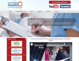 hometownhealthtv.com screenshot