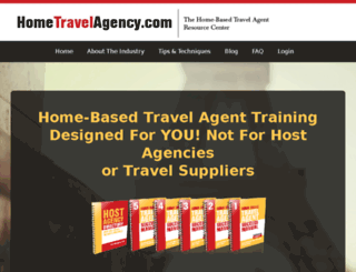 hometravelagency.com screenshot