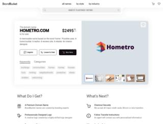 hometro.com screenshot