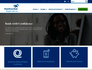 hometrustbanking.com screenshot