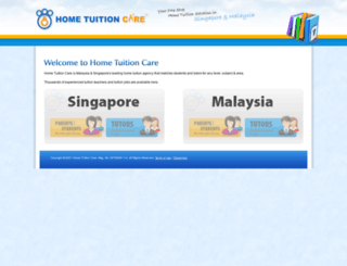 hometuitioncare.com screenshot