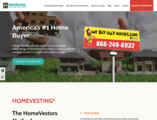homevestorsfranchise.com screenshot