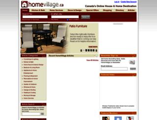 homevillage.ca screenshot