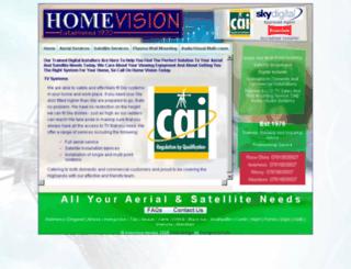 homevisionuk.com screenshot