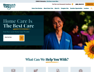 homewatchcaregivers.com screenshot