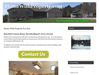 homewithproperty.com screenshot